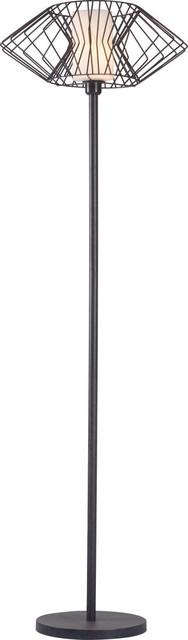 Salon Floor Lamp Color, Black