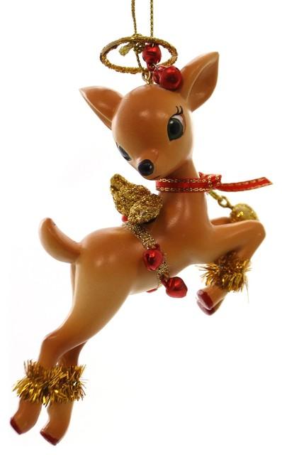 Resin Christmas Ornaments.Holiday Ornaments Jolly Reindeer Tales Ornament Resin Christmas 4045466 Cupid
