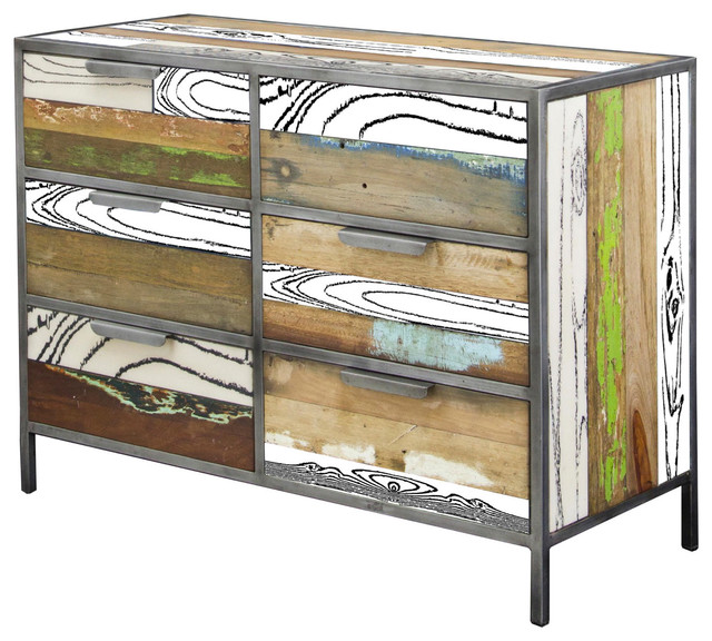 Ellen 6-Drawer Recycled Chest