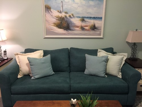 i like a cottage country feel any suggestions are welcome my actual living room space is 12 x 13 not including the dining area