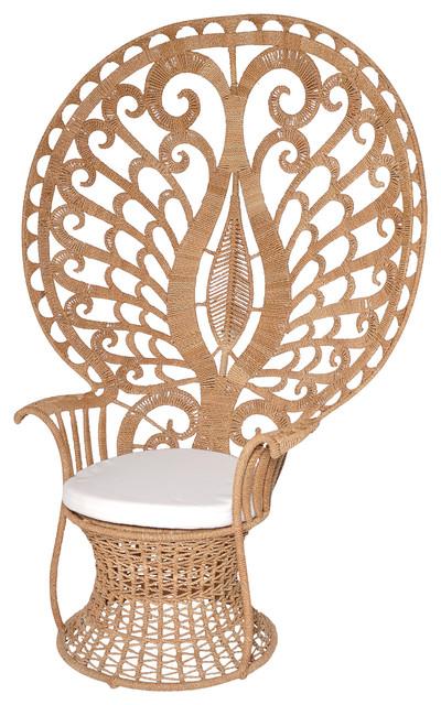 argos peacock chair