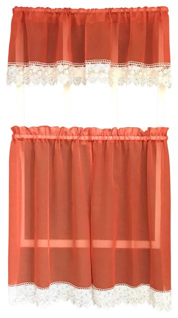 Julia Rustic Kitchen Curtains