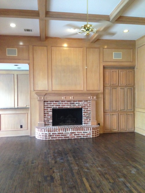 Kitchens With Wood Paneling: Painting Wood Paneling