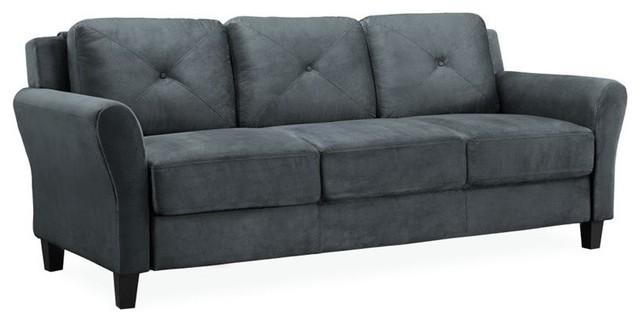 Hawthorne Collections Sofa, Dark Gray