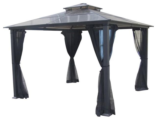 Del Terra Aluminium High Top Gazebo with Vent