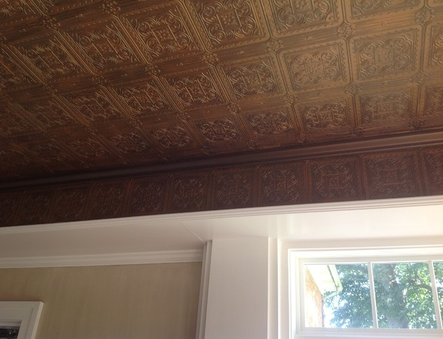 Custom Faux Finishes Transform Kitchen Walls And Ceiling