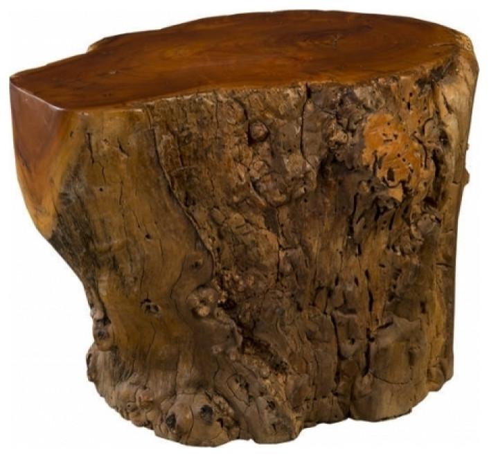 Table Solid Exotic Jackfruit Wood Burl