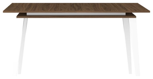 Prism Extendable Dining Table, Walnut