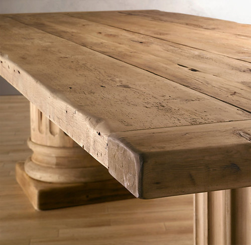 - How Can I Finish A Reclaimed Pine, Salvaged Wod Table?