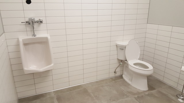 Http Www Houzz Com Photos 87670680 Commercial Washroom Renovation Modern Vancouver