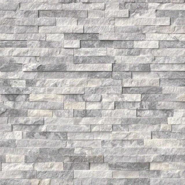 Shadesofstone Com 6 Quot X24 Quot Alaska Gray Marble Ledger Panel