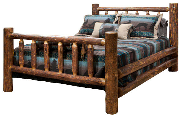 Glacier Country Collection California King Bed