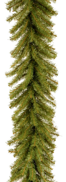 National Tree Company 9&x27;x12 Norwood Fir Garland.