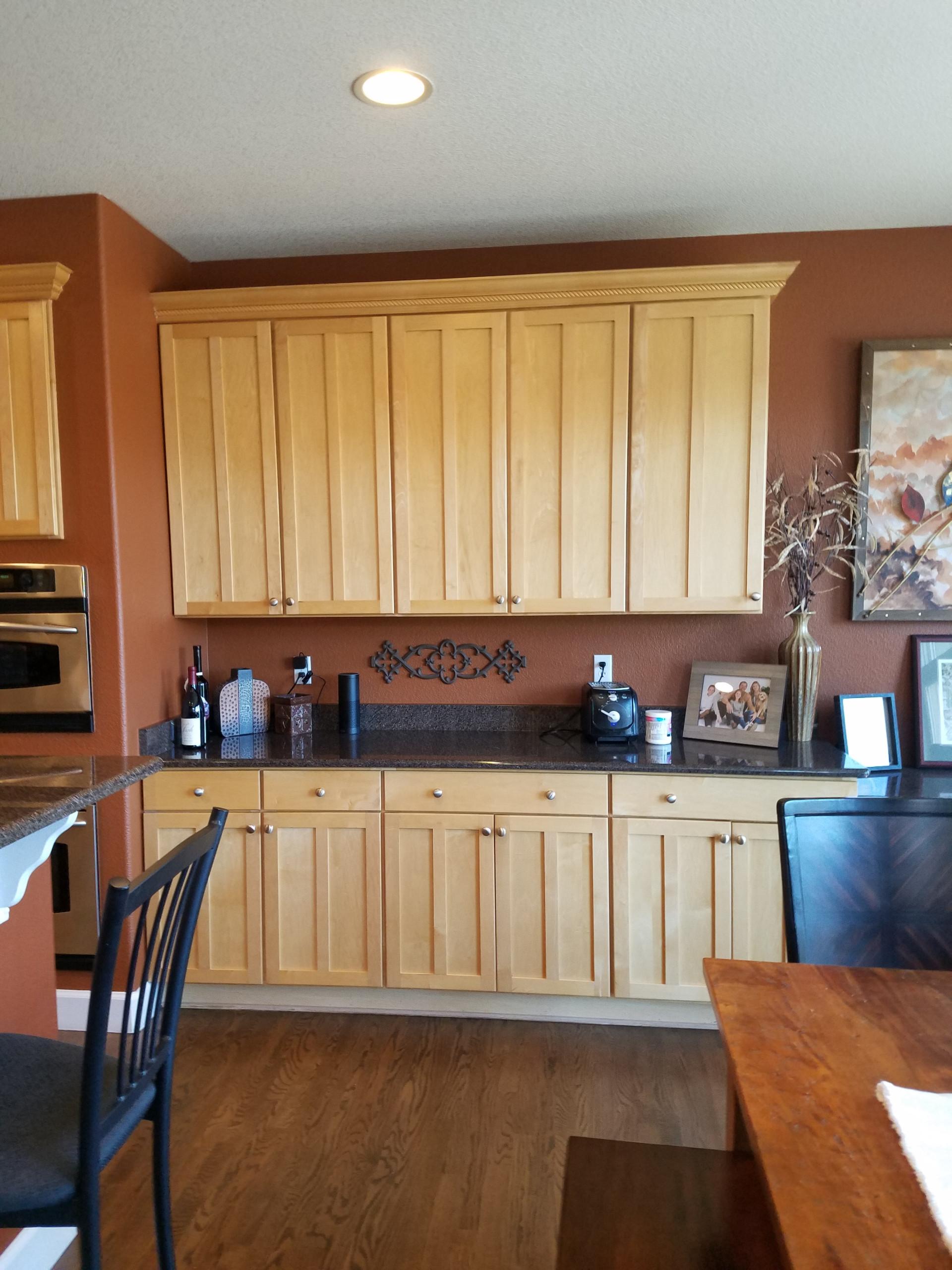 Castle Pines Maple Kitchen Cabinets
