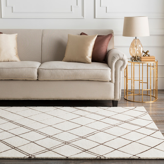 Simpatico Modern Medium Gray Light Gray Area Rug Contemporary Area Rugs By Gwg Outlet