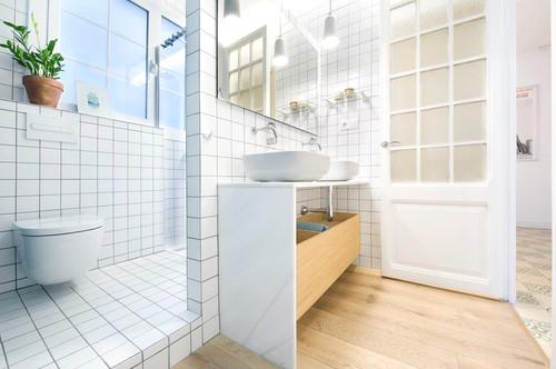 Distribución del baño: Crea ambientes a través de los ...