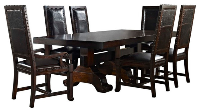 Clearwater American Furniture S Southfork 7 Piece Dining Set Traditional Sets By