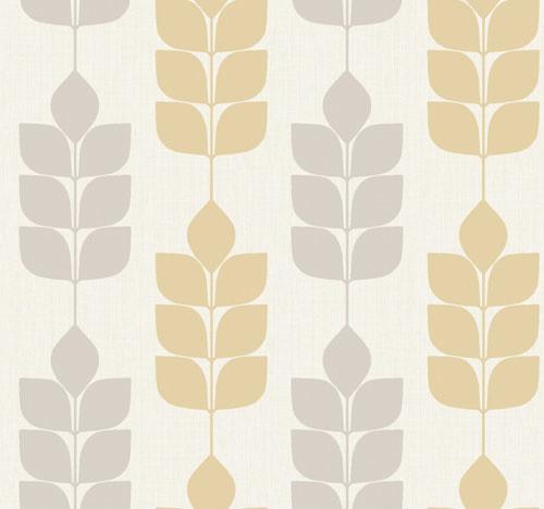 Candice Olson Inspired Elements Modern Petals Wallpaper