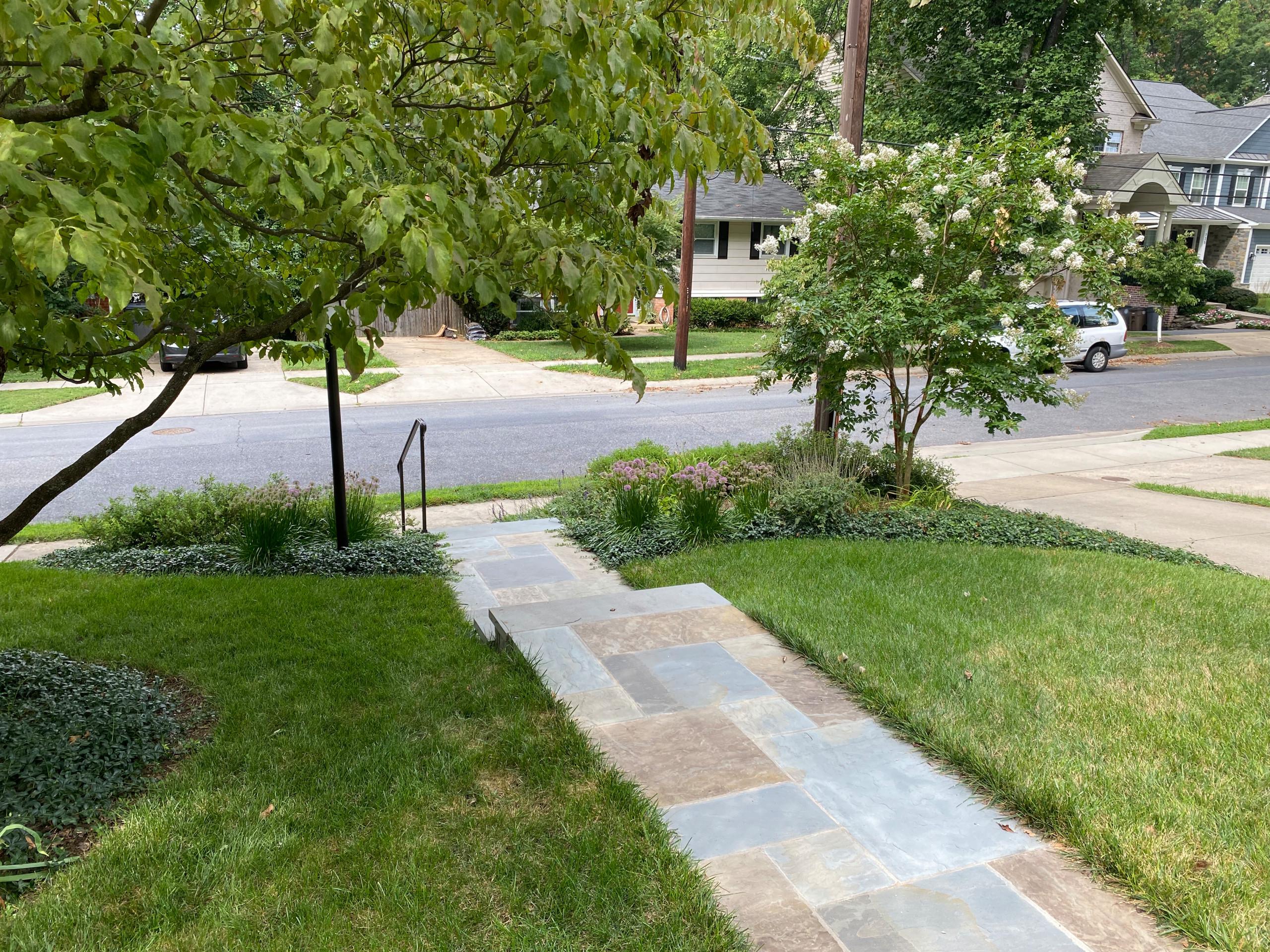 Rockville Front Walkway