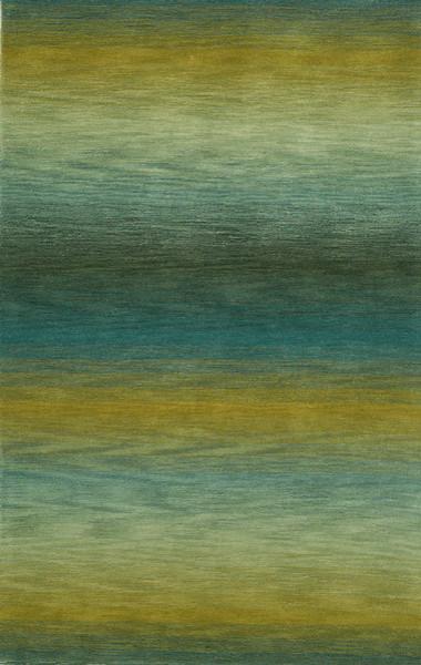 Trans-Ocean Inc., Ombre Rug, 7&x27;6x9&x27;6 Ocean.