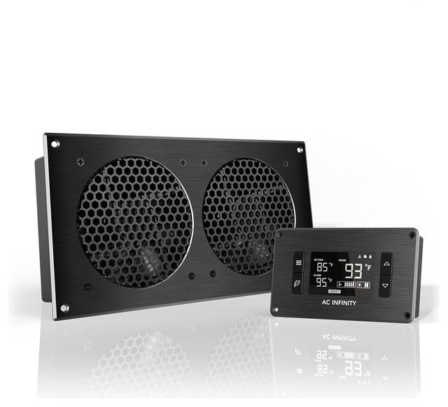AC Infinity AIRPLATE T7, Home Theater and AV Cabinet Cooling Fan ...