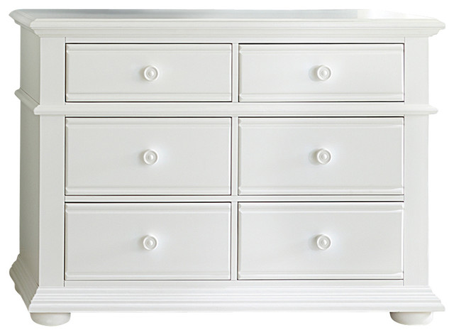 Media Chest with Solids Poplar, Pine Wood, Oyster White Finish - Traditional - Media Cabinets ...