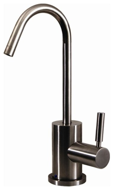"""Forever Hot 4"""" Point Of Use Drinking Water Faucet, Brushed Nickel."""