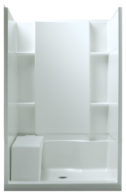 Sterling Store 36 Quot X48 Quot X74 75 Quot Vikrell Alcove Shower Kit