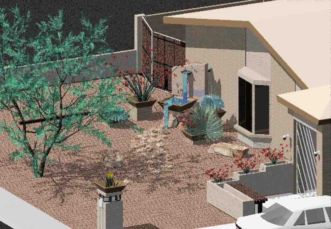 Newly remodeled and landscaped house