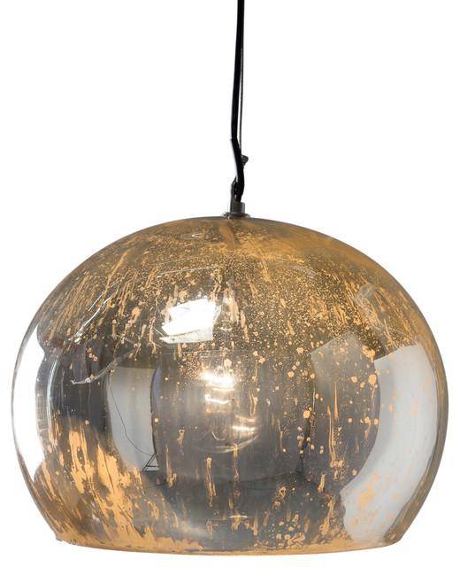 Aura Pendant Large Charcoal Contemporary Pendant