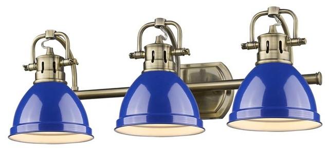 Kichler Barrington 3 Light 22 In Cylinder Vanity Light At: Duncan 3-Light Bath Vanity