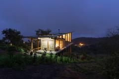 Il Cottage Bungalow Sostenibile in Ecuador Fatto di Legno e Bambù