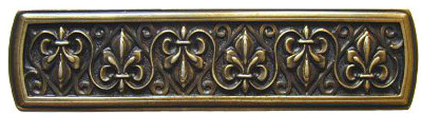 Fleur De Lis Cabinet Pull Traditional Cabinet And Drawer Handle