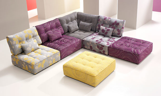 Beau Alice Modular Fabric Sofa
