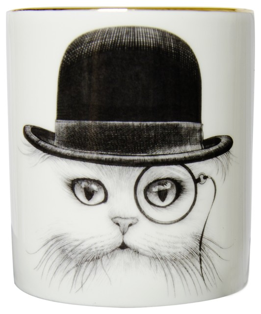 Cat in Hat Cutesy Candle