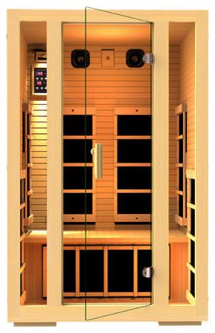 JNH Lifestyles Joyous 2 Person Far-Infrared Sauna