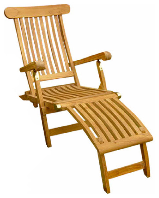 Charmant Teak Steamer Chair