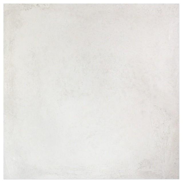 """Revel White 32""""x32"""" Porcelain Tile, Set of 2"""