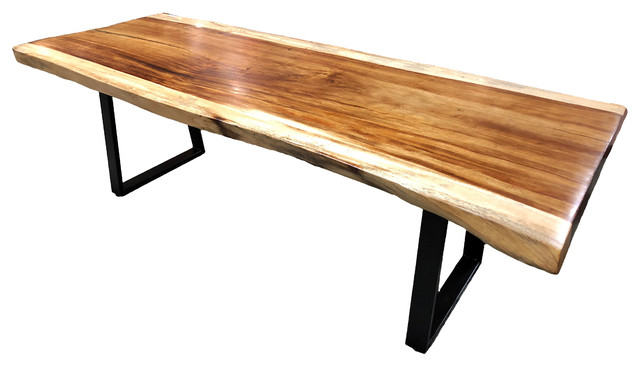 Natural Live Edge Wood Slab Dining Or Conference Table Kitchen Counter Top