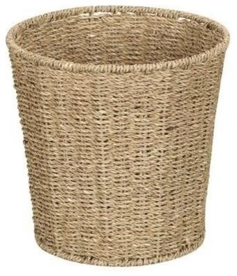 Household Essentials Ml-5692 Seagrass Waste Bin.