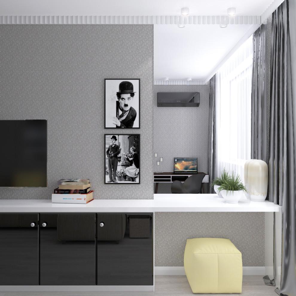 Гостиная-спальня(принятый вариант)