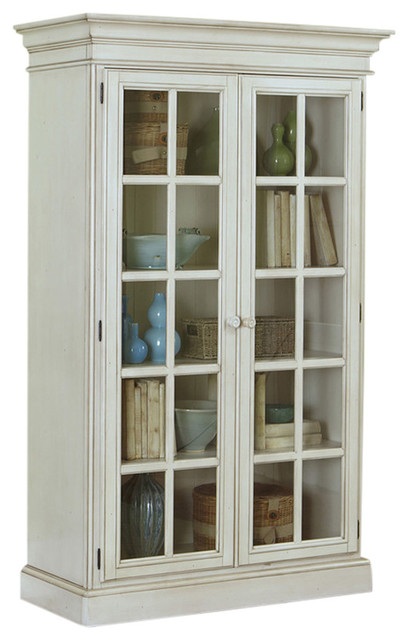 ... Pine Island Large Library Cabinet, 4860-899 - Media Cabinets | Houzz