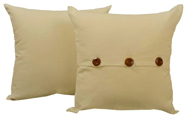 Solid Color Throw Pillow Covers-Cushion Set - Contemporary ... 6cac5ebd4e7d