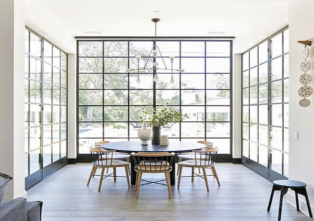 Extended Sunroom Dining Space
