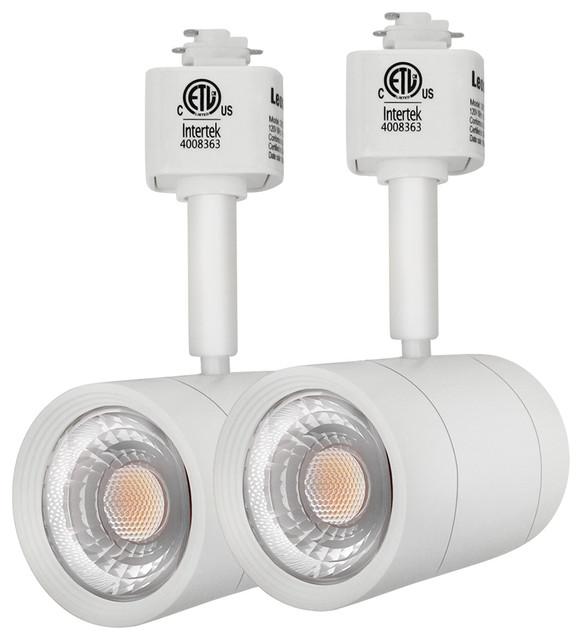 Directional Pendant Track Lighting: 8.5W LED Directional Track Light Head, Energy Star, Set Of