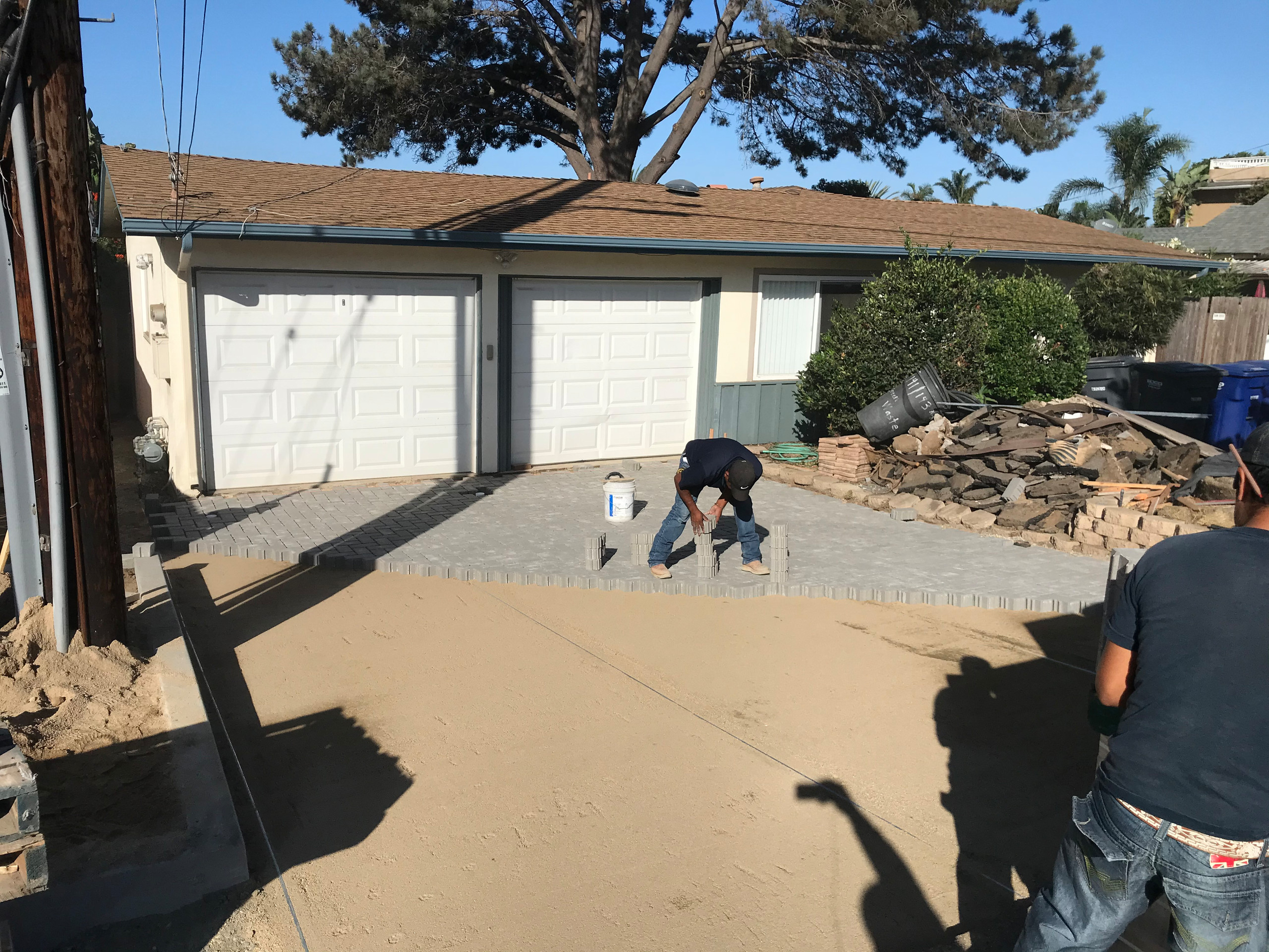 Installing a New Paver Driveway