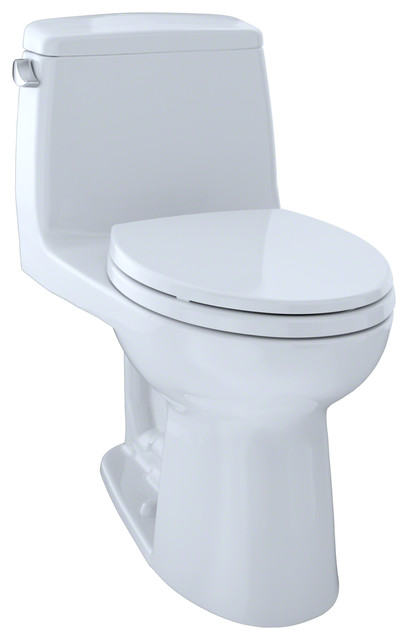 Toto Ultramax Elongated 1 Piece Toilet Ms854114el 01