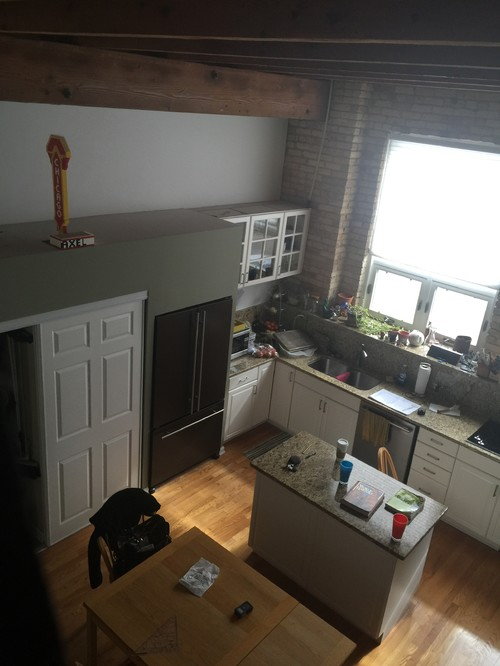 Chicago Lincoln Park Old Banjo Factory turned Townhouse - before photo