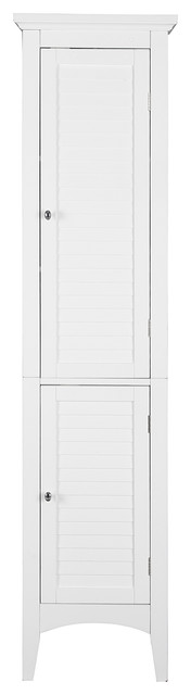 Riverhead Tower Cabinet, White.