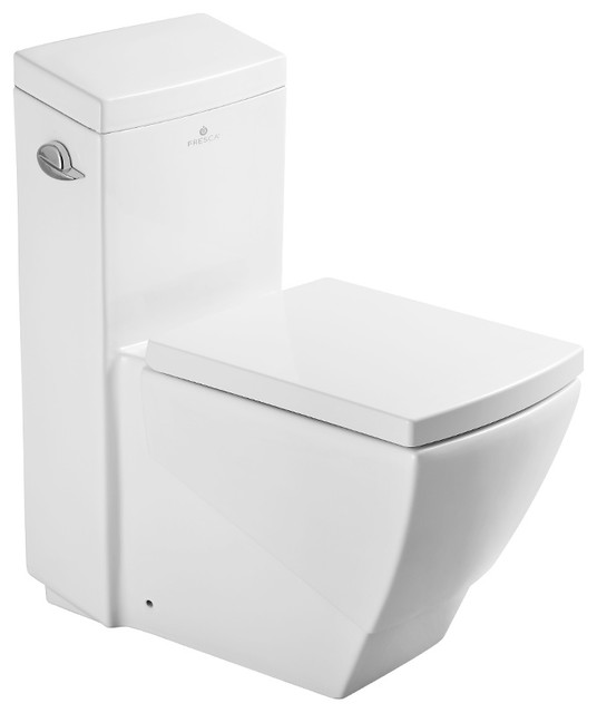 Tremendous Fresca Apus One Piece Square Toilet With Soft Close Seat Andrewgaddart Wooden Chair Designs For Living Room Andrewgaddartcom